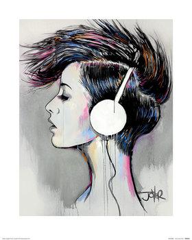Reprodução do quadro Loui Jover - Inner Beat