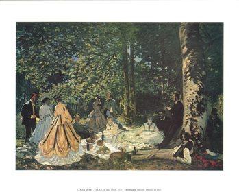 Reprodução do quadro Luncheon on the Grass