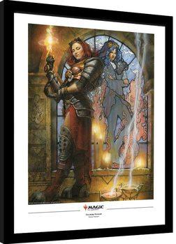 Magic The Gathering - Chandra, Torch of Defiance Poster Emoldurado