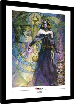 Magic The Gathering - Liliana, Untouched by Death Poster Emoldurado