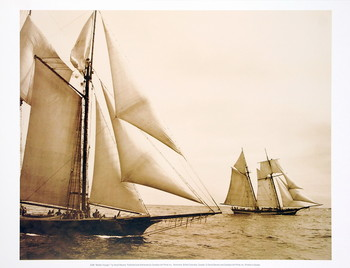 Reprodução do quadro Maiden Voyage I