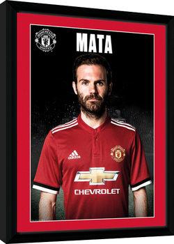 Manchester United - Mata Stand 17/18 Poster Emoldurado