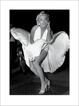 Reprodução do quadro Marilyn Monroe