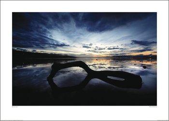 Reprodução do quadro  Marina Cano - Beach Reflection