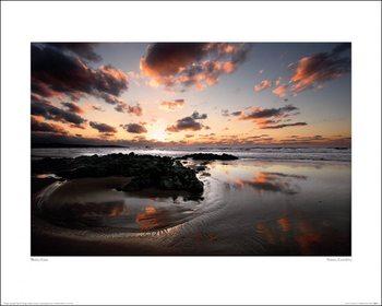 Reprodução do quadro Marina Cano - Sunset, Cantabria