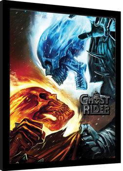 Marvel Extreme - Ghost Rider Poster Emoldurado