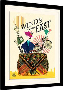 Mary Poppins Returns - Wind in the East Poster Emoldurado