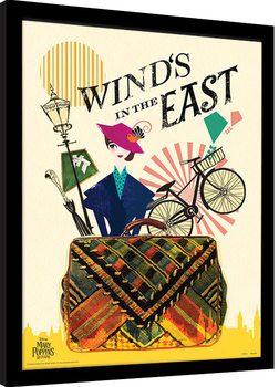 Mary Poppins Returns - Wind in the East Poster Emoldurado
