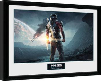 Mass Effect Andromeda - Landscape Poster Emoldurado