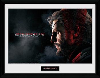 Metal Gear Solid V - Snake Poster Emoldurado