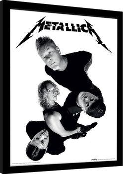 Metallica - Twisted Band Poster Emoldurado