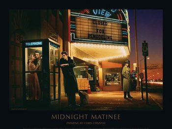 Reprodução do quadro  Midnight Matinee - Chris Consani