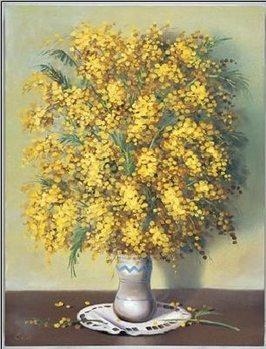 Reprodução do quadro Mimosas