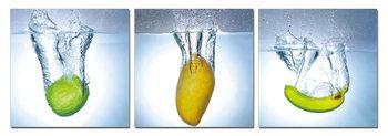 Quadro Modern design - fruit