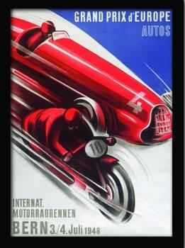 MONACO (3) Poster Emoldurado