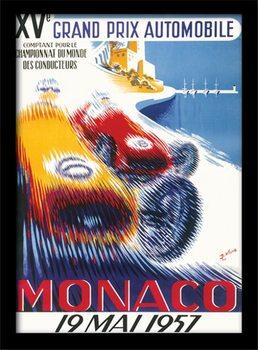 Monaco - 6 Poster Emoldurado