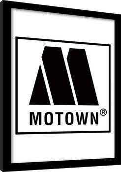 MOTOWN records - Logo Poster Emoldurado