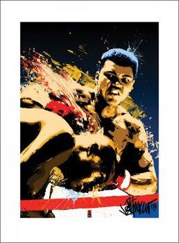 Reprodução do quadro  Muhammad Ali - Sting