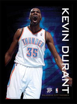 NBA - Kevin Durant Poster Emoldurado