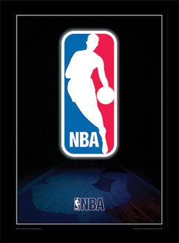 NBA - Logo Poster Emoldurado