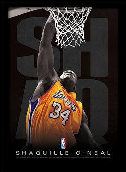 NBA - Shaq Poster Emoldurado