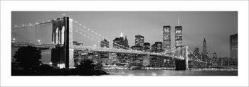 Reprodução do quadro  New York - Skyline
