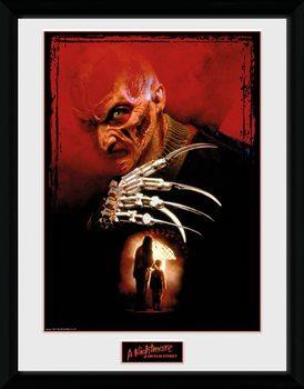 Nightmare On Elm Street - Collage Poster Emoldurado
