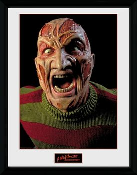 Nightmare On Elm Street - Scream Poster Emoldurado