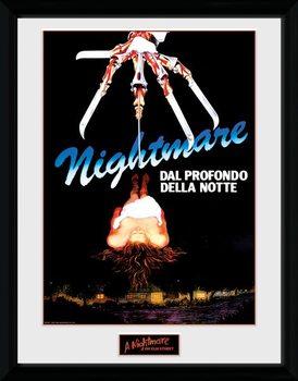 Nightmare On Elm Street - The Final Nightmare Poster Emoldurado