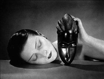 Reprodução do quadro  Noire et Blanche - Black and white, 1926