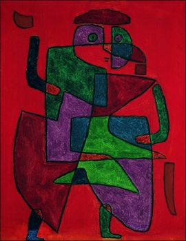 Reprodução do quadro  P.Klee - Der Kunftige