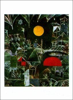 Reprodução do quadro  P.Klee - Mondaufgang