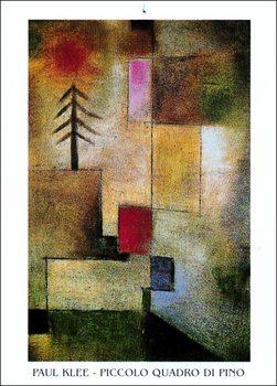Reprodução do quadro  P.Klee - Piccolo Quadro Di Pino