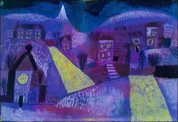 Reprodução do quadro  P.Klee - Winterlandschaft
