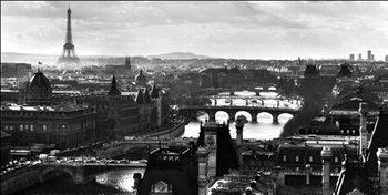 Reprodução do quadro  Paris - Seina