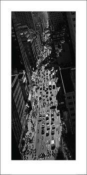Reprodução do quadro  Pete Seaward - New York street