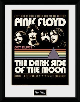 Pink Floyd - 1973 Poster Emoldurado