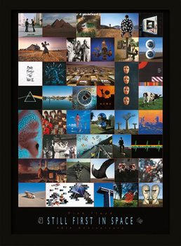 Pink Floyd - 40th Anniversary Poster Emoldurado