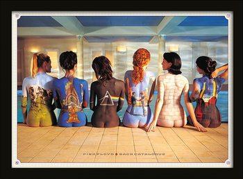 Pink Floyd - Back Catalogue Poster Emoldurado