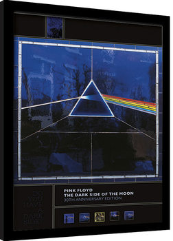 Framed 30 x 40 Official Print Pink Floyd 40Th Anniversary