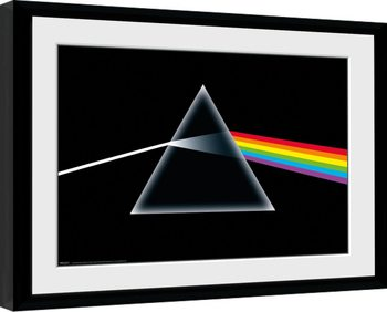 Pink Floyd - Dark Side Of The Moon Poster Emoldurado