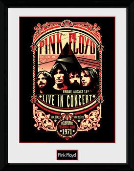 Pink Floyd - Pink Floyd - 1971 Poster Emoldurado