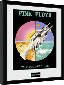 Pink Floyd - Wish You Were Here 2 Poster Emoldurado