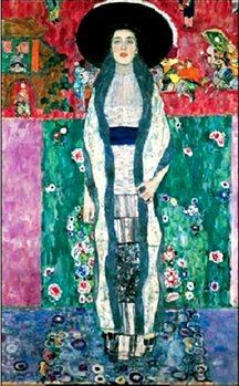 Reprodução do quadro  Portrait of Adele Bloch-Bauer II