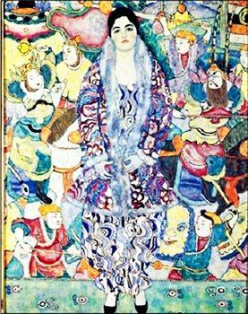 Reprodução do quadro Portrait of Friederike Maria Beer 1916