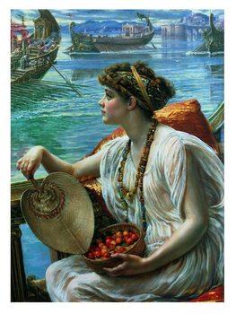Reprodução do quadro Poynter - A Roman Boat Race