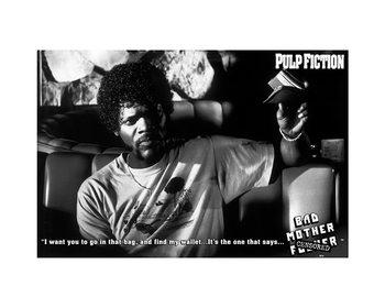Reprodução do quadro Pulp Fiction - Bad Mother F**ker