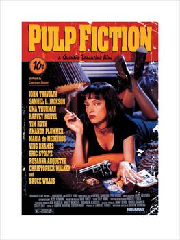 Reprodução do quadro Pulp Fiction