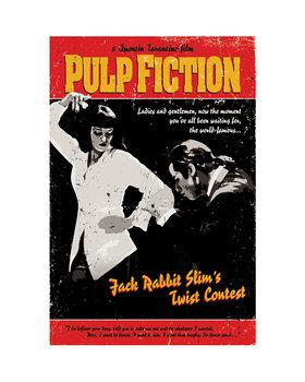 Reprodução do quadro Pulp Fiction - Twist Contest