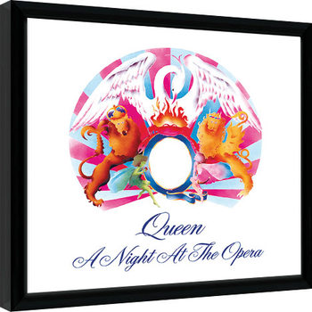 Queen - A Night At The Opera Poster Emoldurado